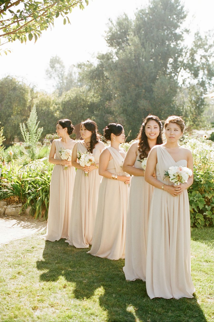Champagne bridesmaid dresses champagne photography and wedding