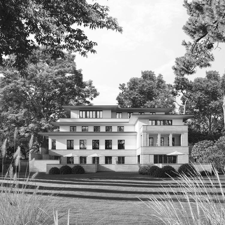 Sebastian Treese Architects In 2020 Facade Design Architect House Styles