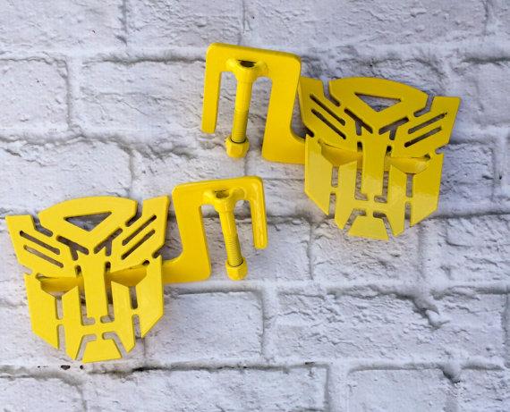 Bumblebee Yellow Transformer Autobot Jeep Foot Pegs By Jeepjunk Custom Jeep Jeep Jeep Accessories