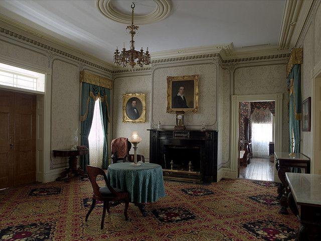 Antebellum Home Interiors