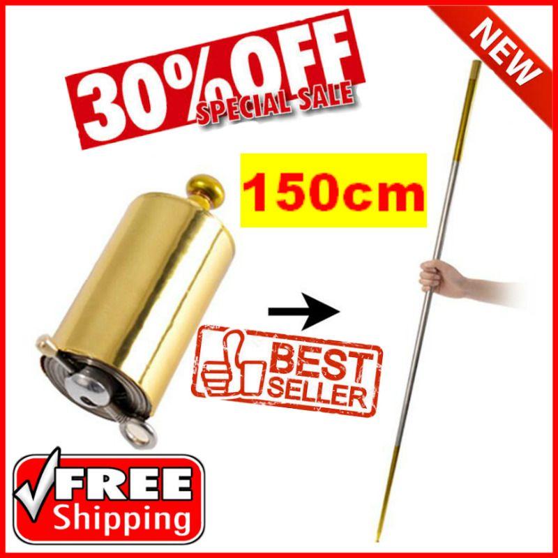 150cm MAGIC!! POCKET STAFF™ Portable Martial Arts Metal Bo