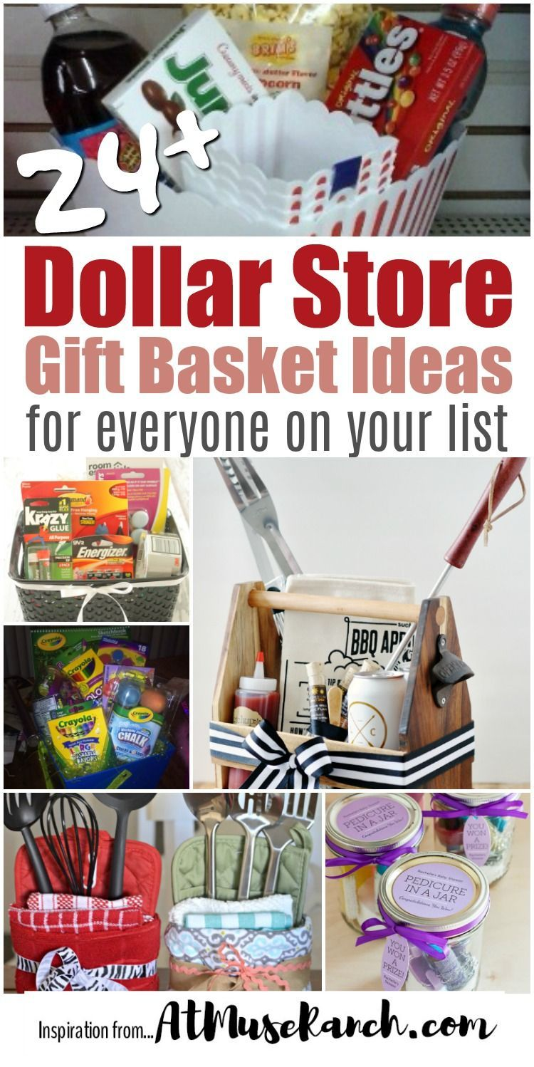 Dollar Store Gift Basket Ideas Giftpackaging With Images Dollar Store Gifts Dollar Tree Gifts Creative Diy Gifts