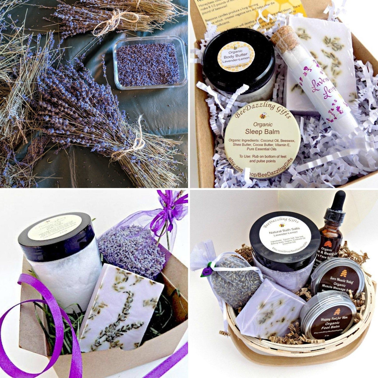 Lavender Spa Gift For Her Spa Box Spa Set Gift Ideas For Etsy Spa Gifts Spa Kit Spa Gifts Set