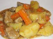 Photo of Sautéed pork with carrots and potatoes-Sauté de porc aux car…