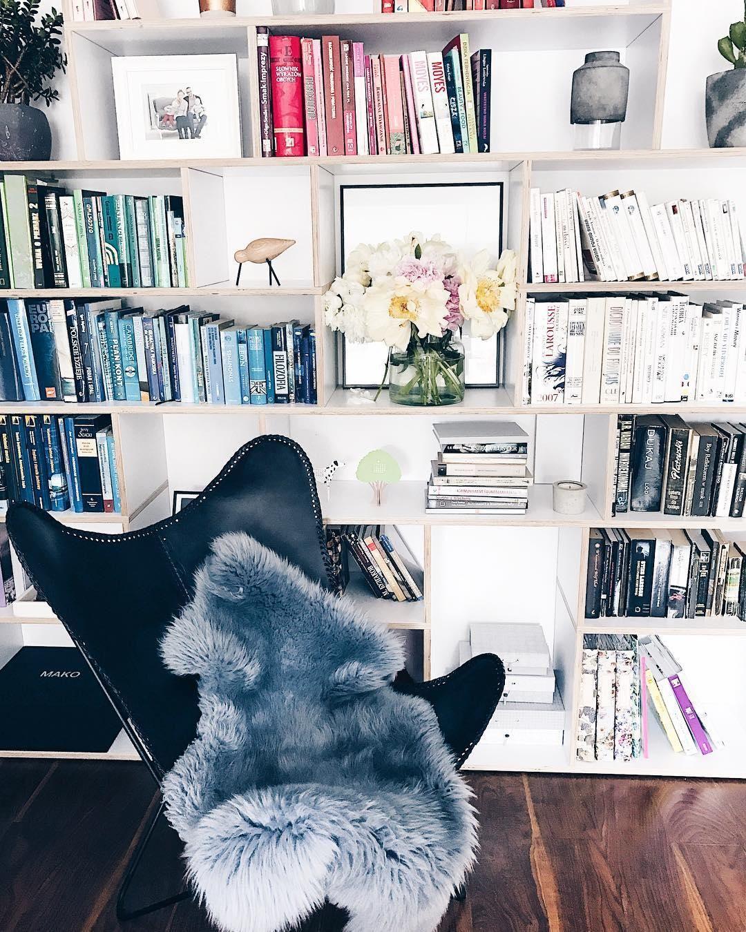 Leder-Sessel Butterfly | Sessel, Bibliothek und Sortieren
