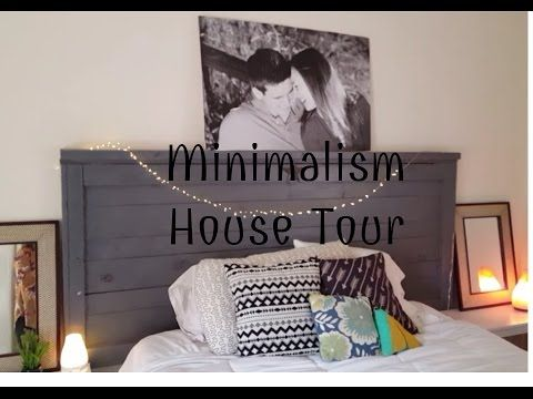 Minimalist House Tour Everything We Own Youtube Simplify