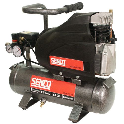 Senco 1 5 Hp 2 5 Gallon Oil Lube Hand Carry Air Compressor Pc1130 New Best Portable Air Compressor Compressor Milling Machine For Sale