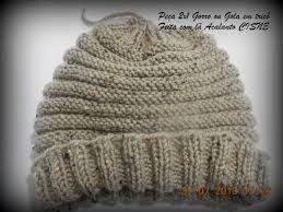 Resultado de imagem para receita gorro trico feminino  1808c473c10