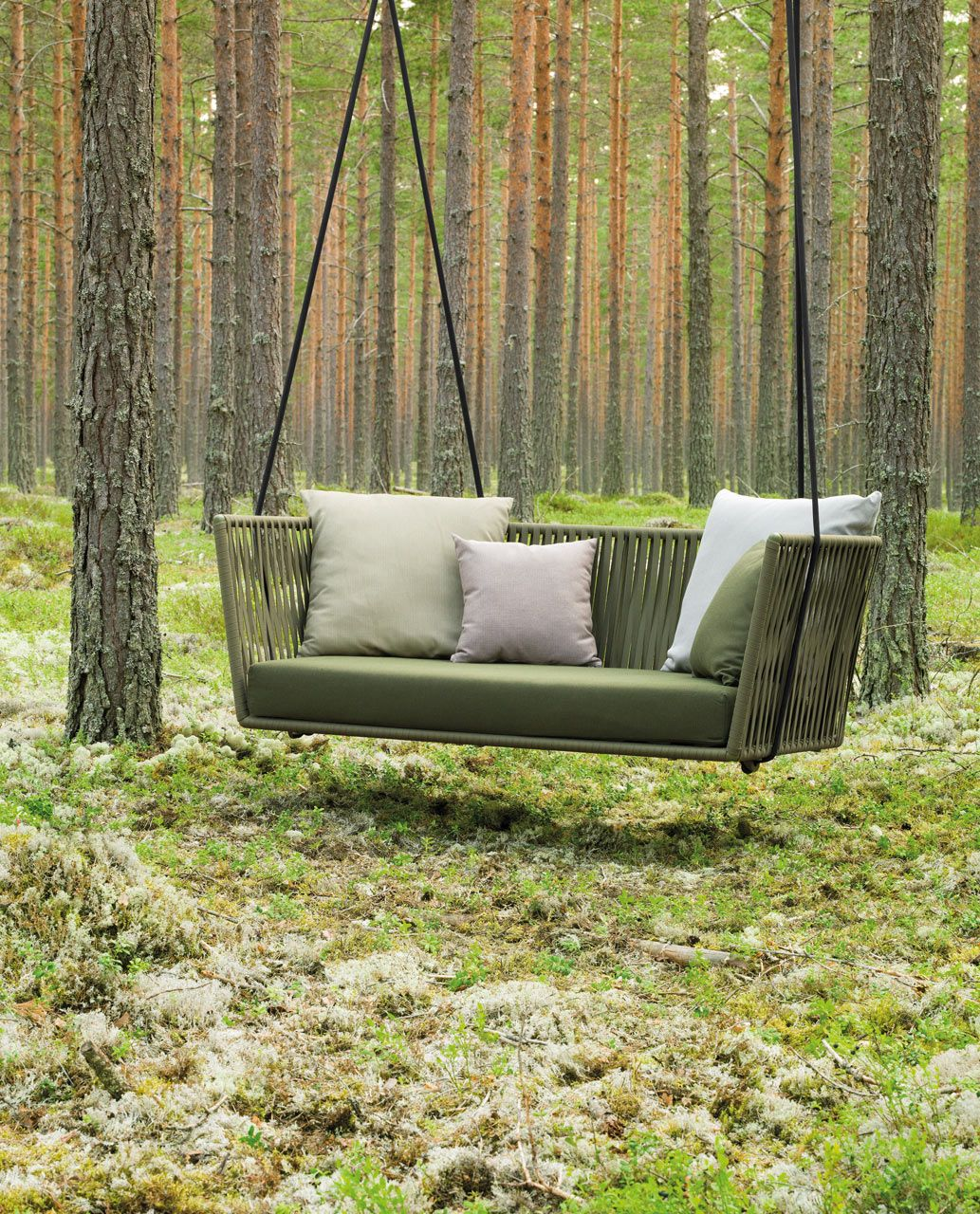 Modern Outdoor Furniture With Braided