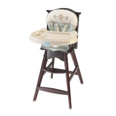 Carters Classic Comfort Reclining Wood High Chair By Summer