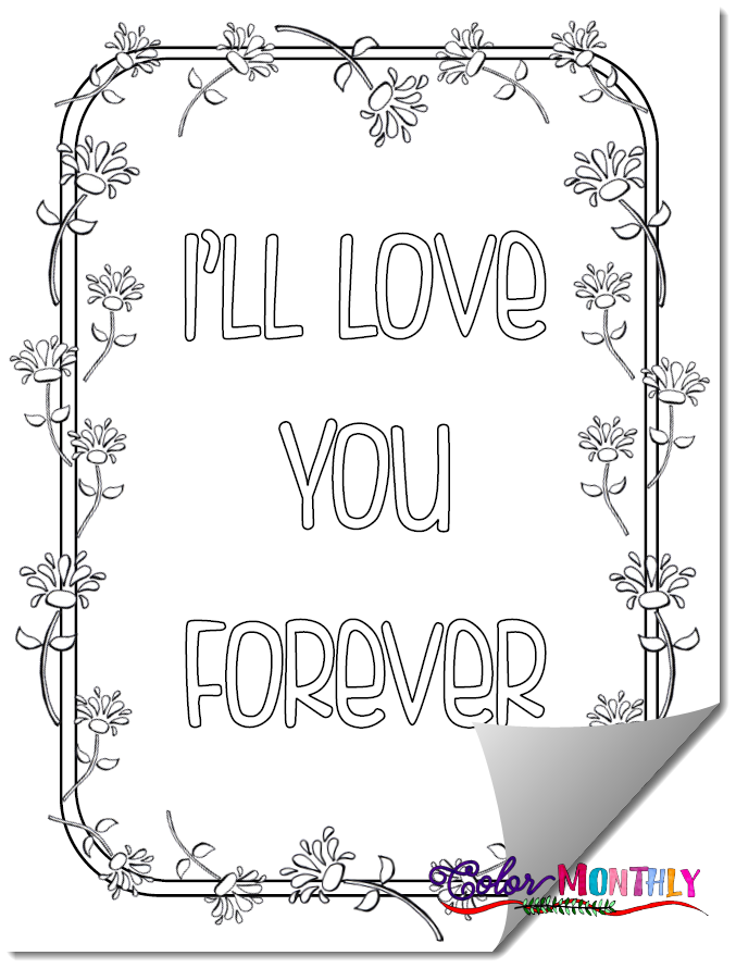 New Podcast Coloring Our Worry Grief Love You Forever Coloring Pages Podcasts