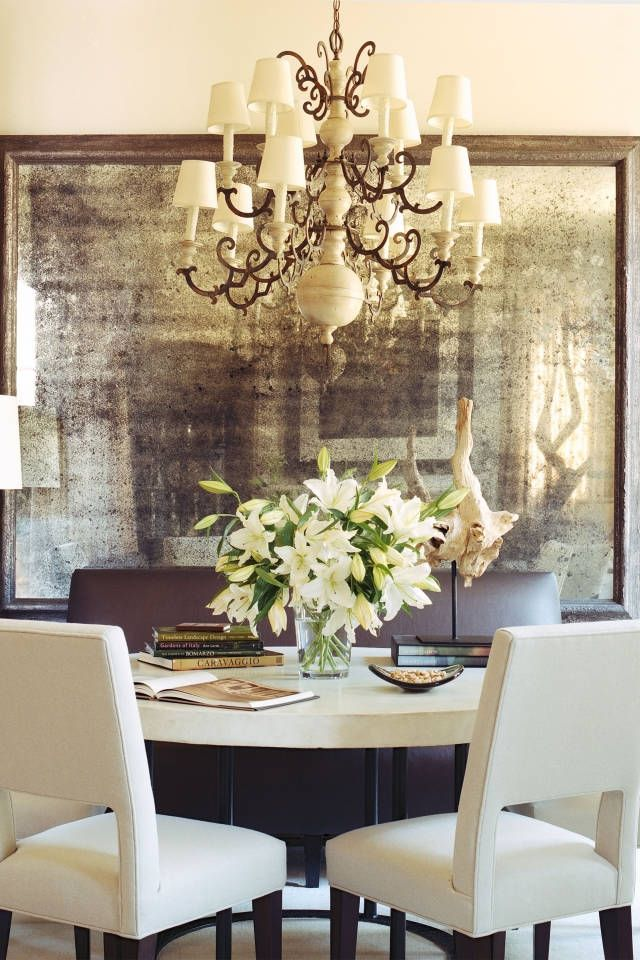 Thelist Interior Designer Susan Ferrier Shares Her Fall Inspiration Mirror Dining Room Decor Cheap Home Decor