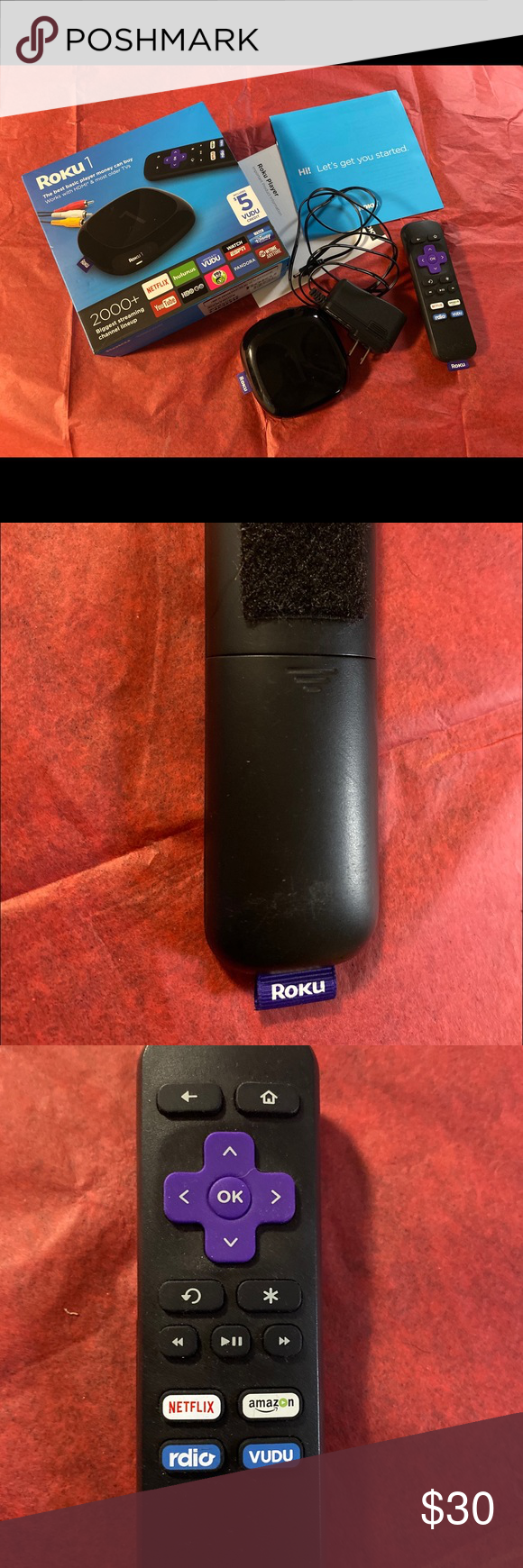 Roku 1 streaming media player used (With images) Amazon