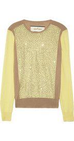 By Malene BirgerSunnia embellished fine-knit wool sweater