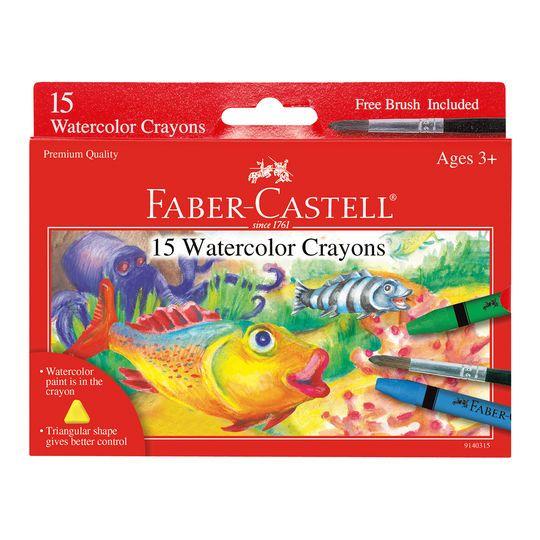 fabercastell® watercolor crayons  kids art supplies