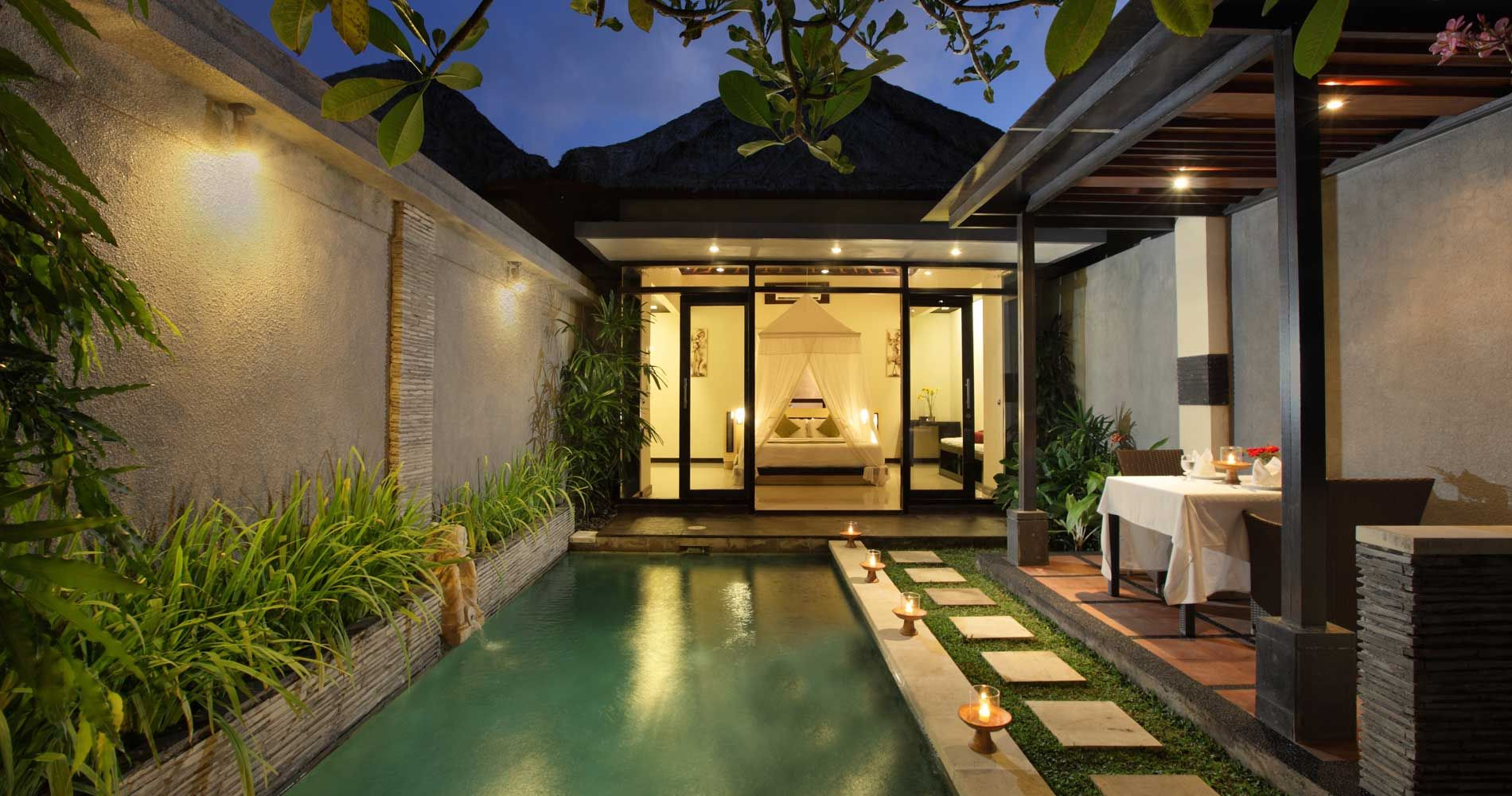 Private pool tonys villa travel dreams pinterest for Small private hotels