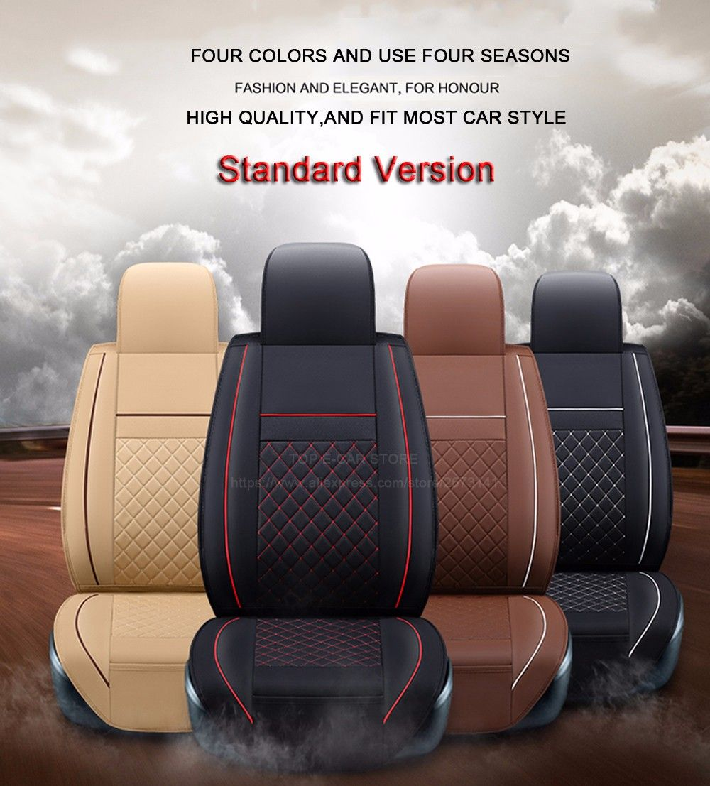 Cheap Seat Covers For Toyota Buy Quality Universal Cover Directly From China Suppliers Front Rear High Leather Car
