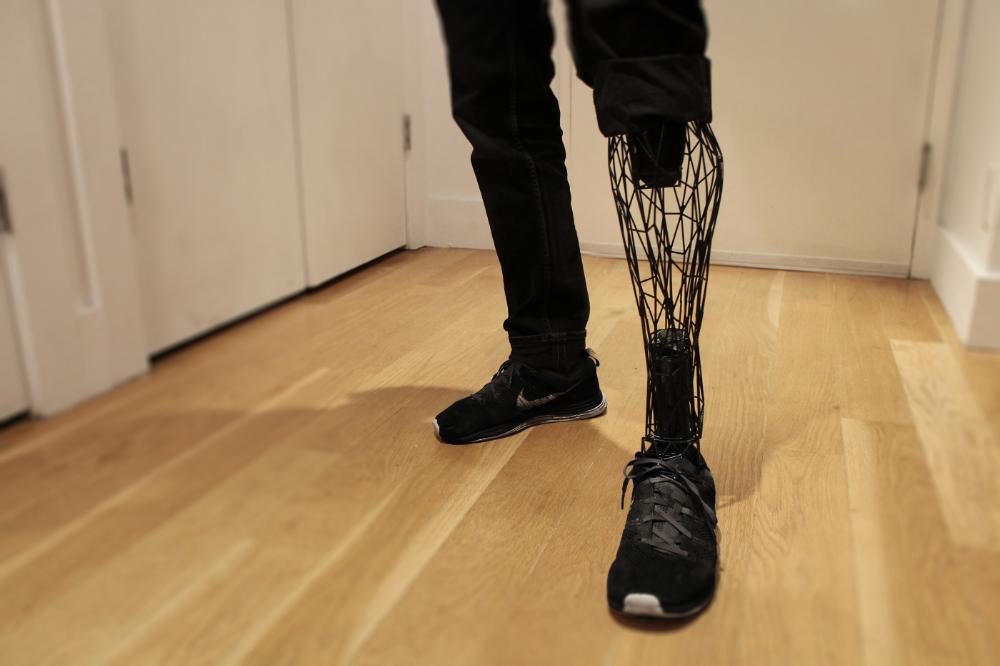 Exo Prosthetic Leg on Behance Prosthetic leg