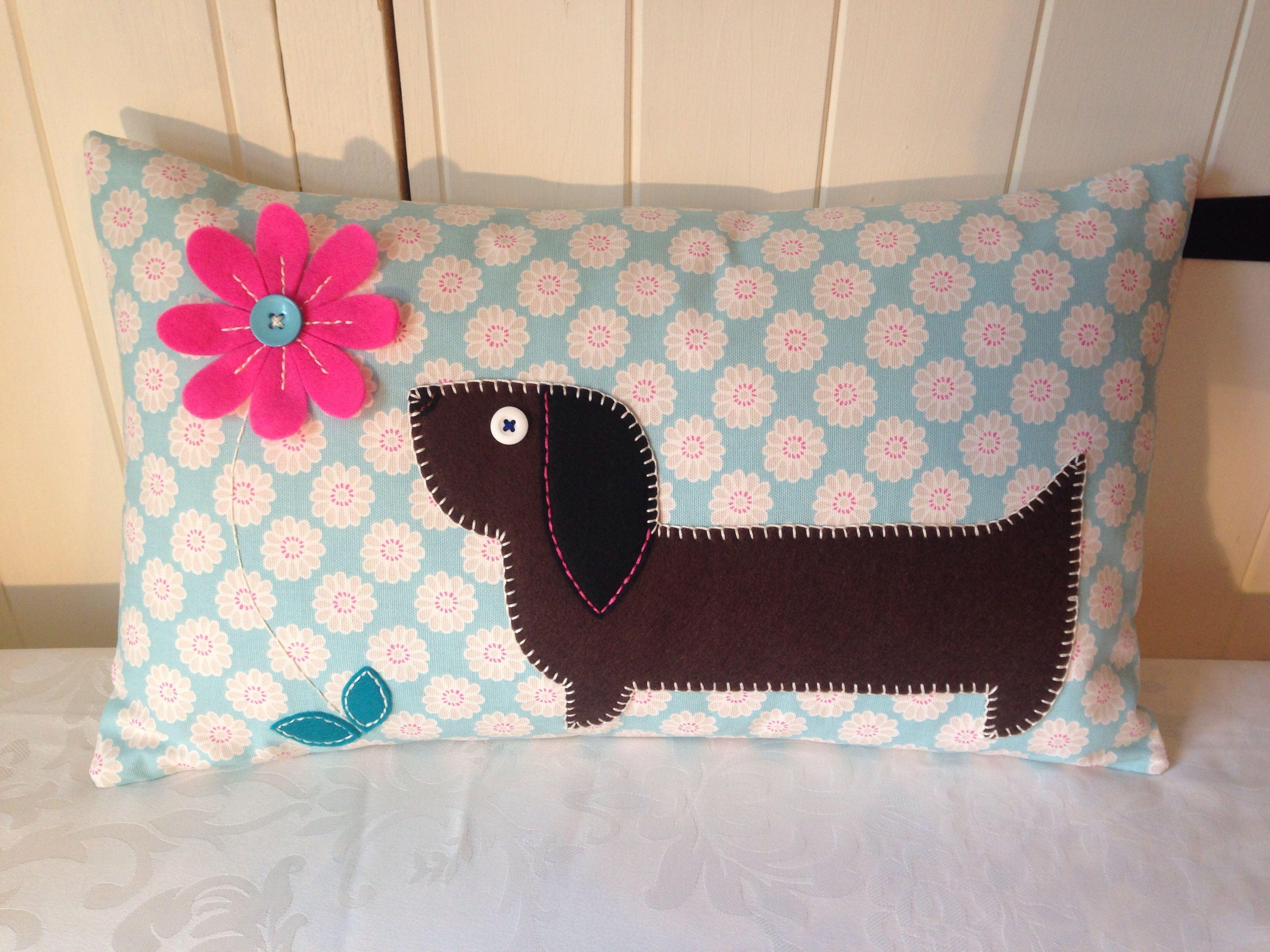 Sausage dog ) (With images) Dog cushions, Sausage dog