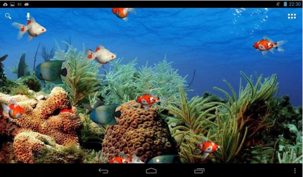 Aquarium Live Wallpaper For Android App Free Download Water Live Wallpaper Live Wallpapers Aquarium Live Wallpaper