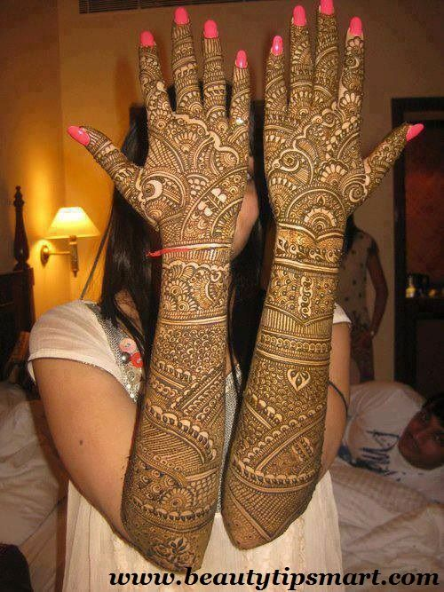 Arabic Eid Mehndi Designs 2013