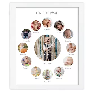 Shop Target For Nursery Frames You Will Love At Great Low Prices Free Shipping On Orders Of 35 Or Same D In 2020 Framed Photo Collage Picture Collage Collage Frames