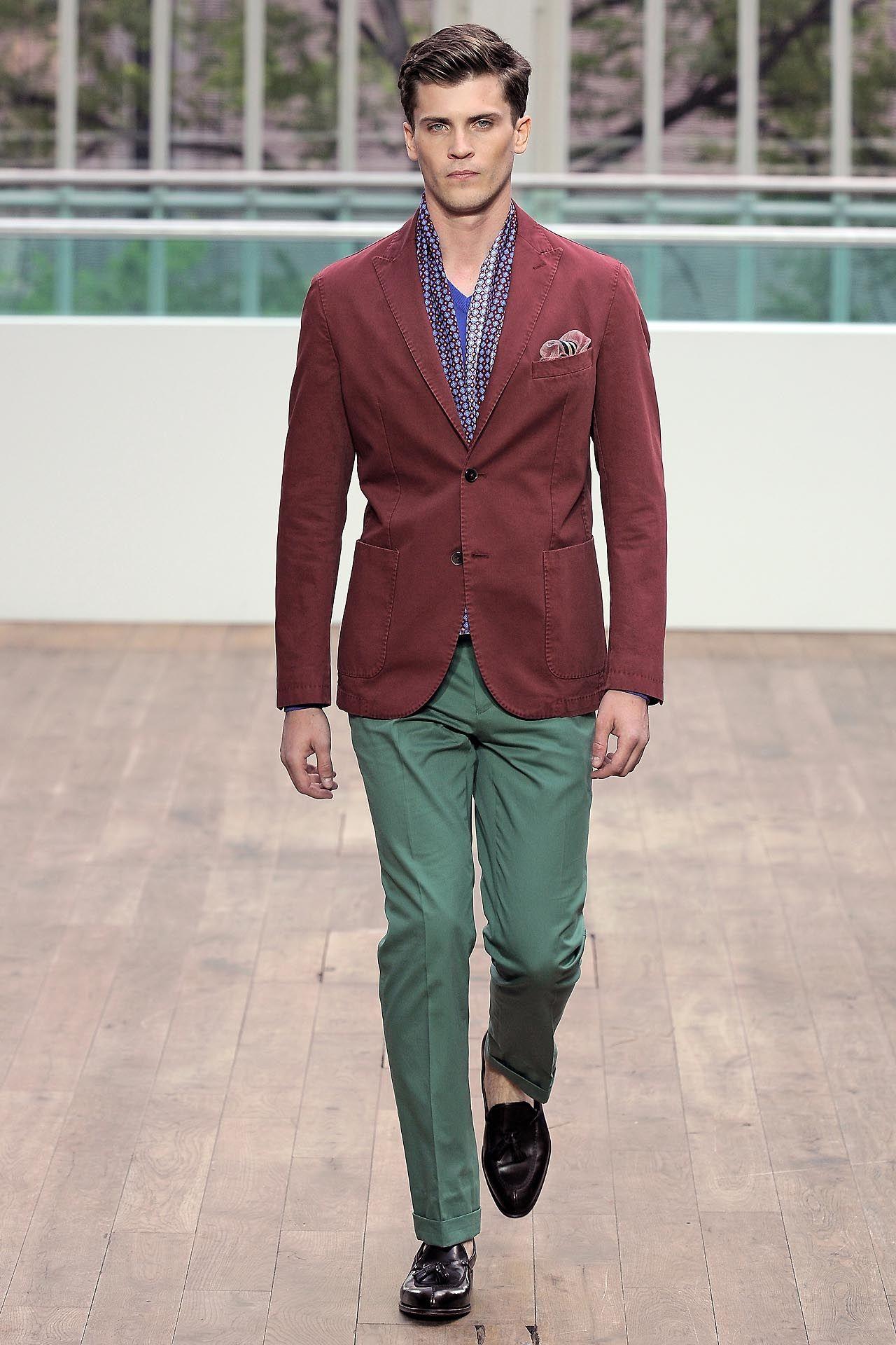 e604b17233fb red jacket green pants hackett men style british menswear blog ...