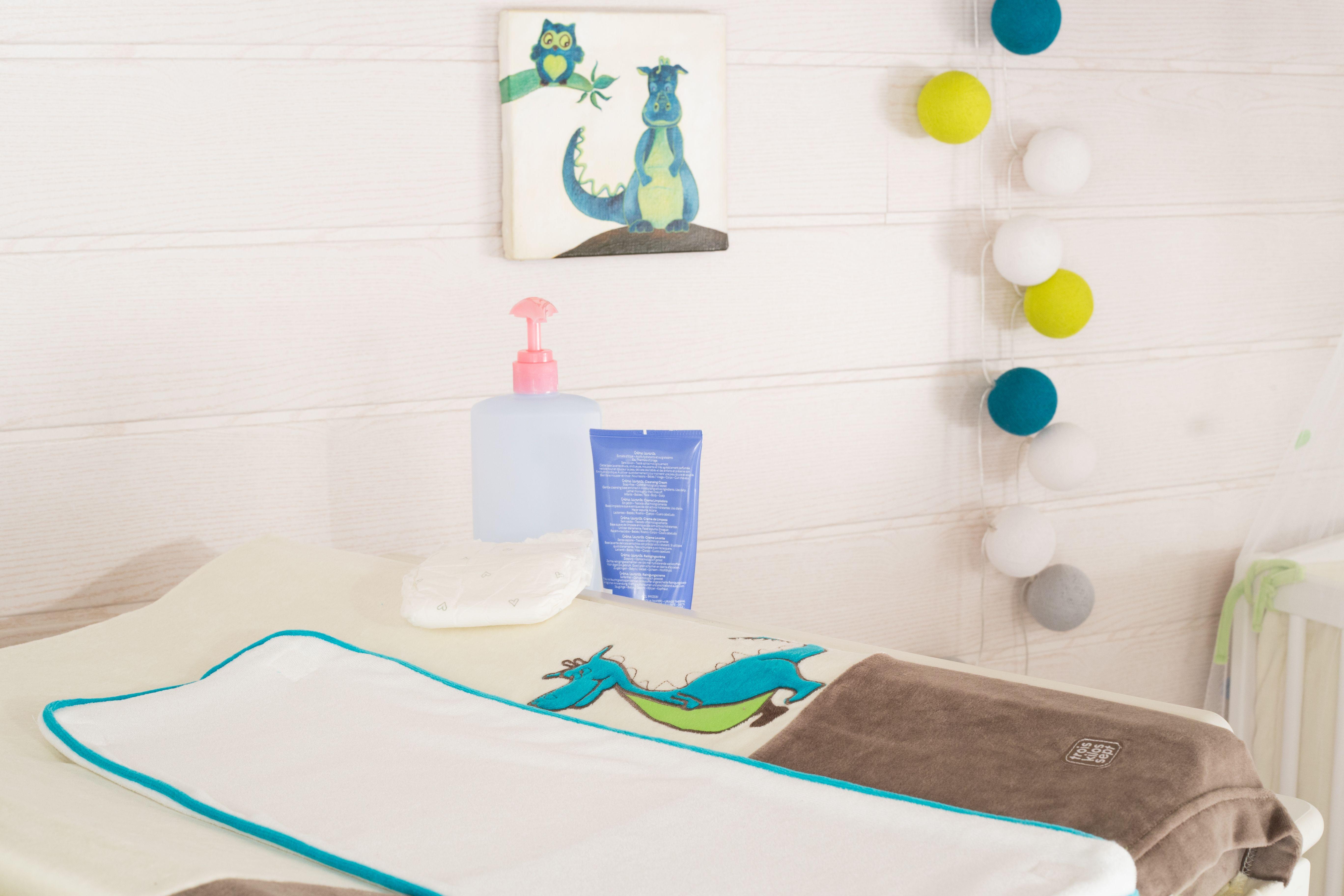 A#tapis #langer #chambre #bébé #garçon #marron #bleu #vert ...