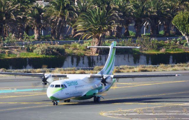Canary Islands Spotting....Spotter: BINTER CANARIAS ATR 72212A EC-KGJ LPAGC      Spott...