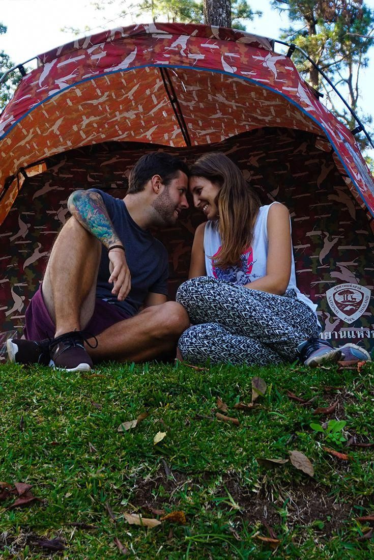 Travel Couple Camping Romantic | Couples camping, Outdoor ...