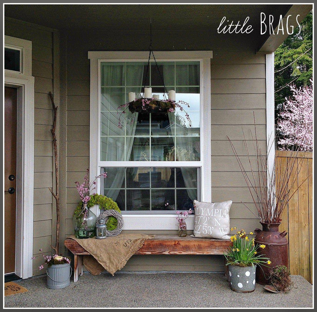 20 Front Porch Makeover Ideas Spring Porch Decor Small Porch