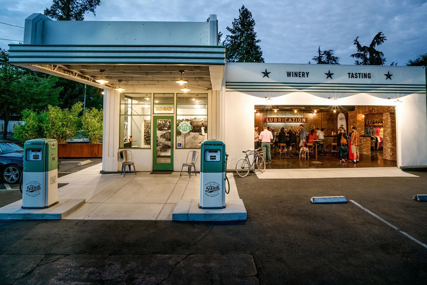 13 Fancy Restaurants in Former Gas Stations Gas station