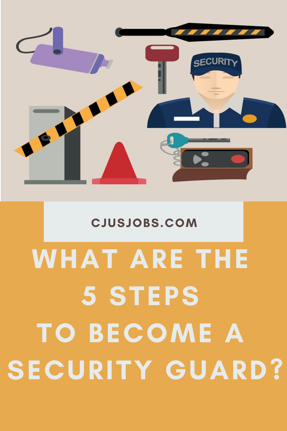 How To Become A Security Guard Step By Step Career Guide Security Guard Good Communication Skills How To Become