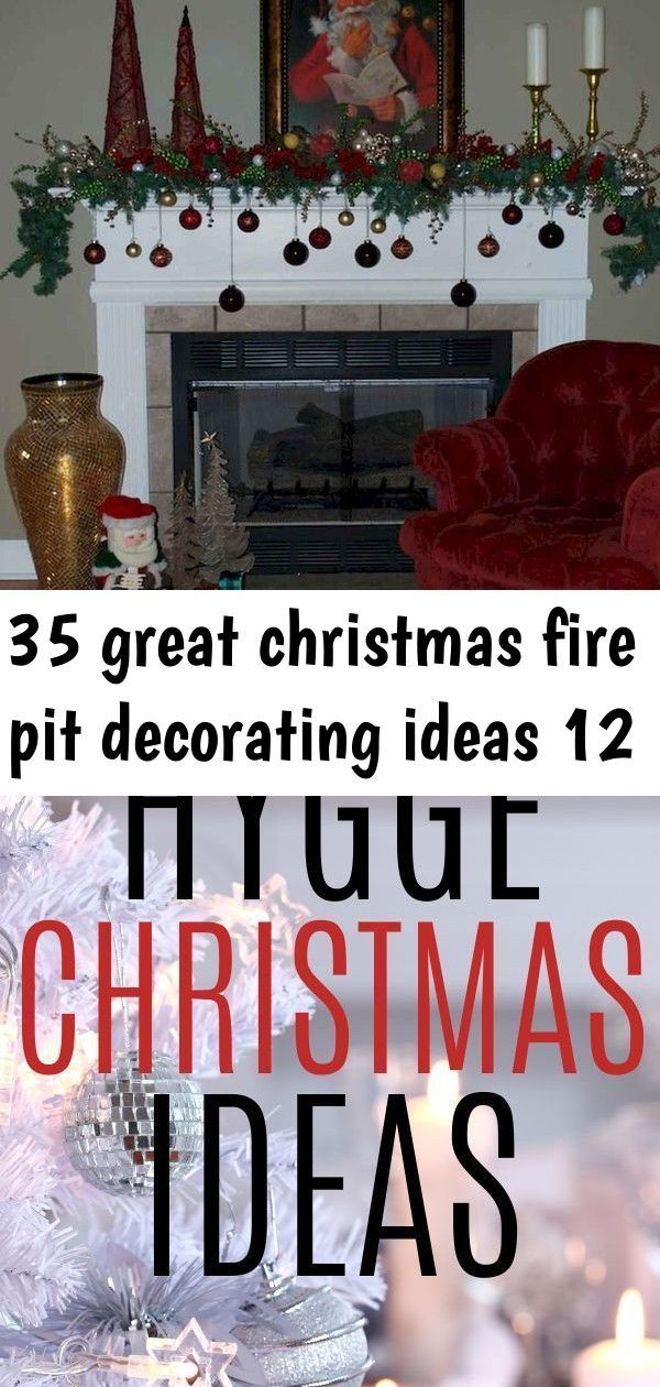Photo of 35 great christmas fire pit decorating ideas 12 –  21 Hygge Christmas Ideas and …