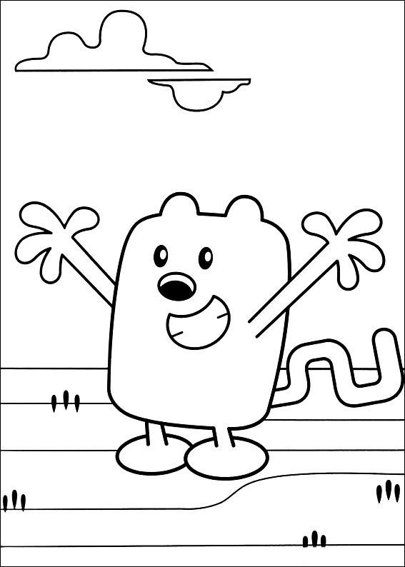 Dibujos Para Colorear Wow Wubbzy 17