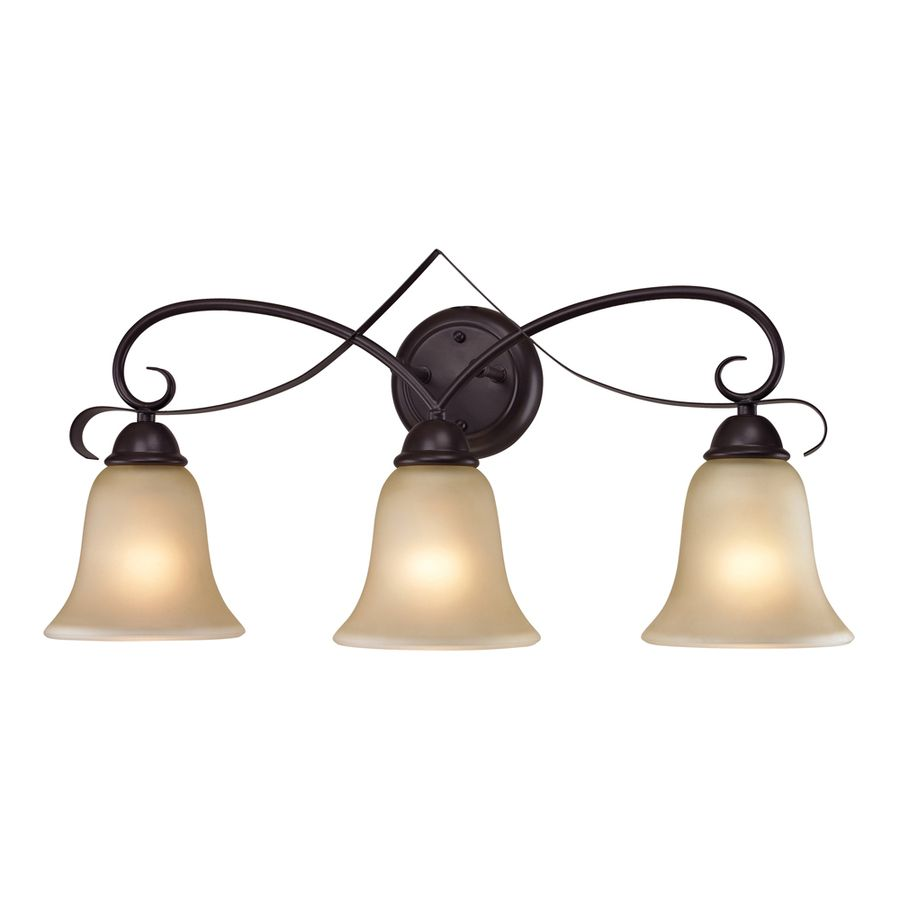 Shop Westmore Lighting 3-Light Colchester Oil Rubbed Bronze Bathroom ...