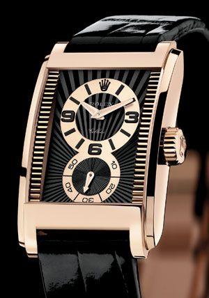 c29cc3be7fc4 Modern Rolex Prince in 18k rose gold