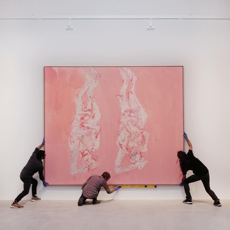 Georg Baselitz Time Paris Pantin Gallery In