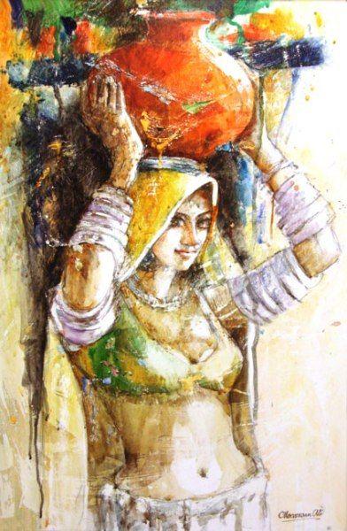 Art Scene Gallery Art Gallery Indian Paintings Portraiture