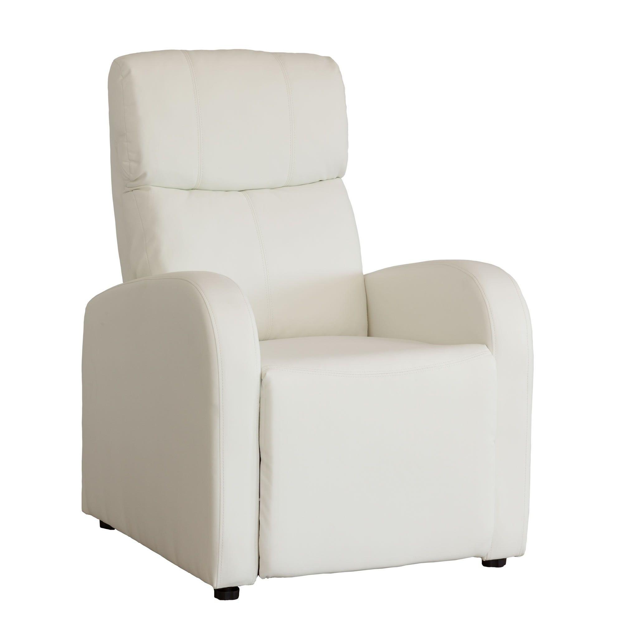 Sillón relax reclinable en simil piel modelo sandra | Reclinable ...