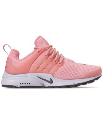 b370f9a84765 Nike Women s Air Presto Running Sneakers from Finish Line - Red 7