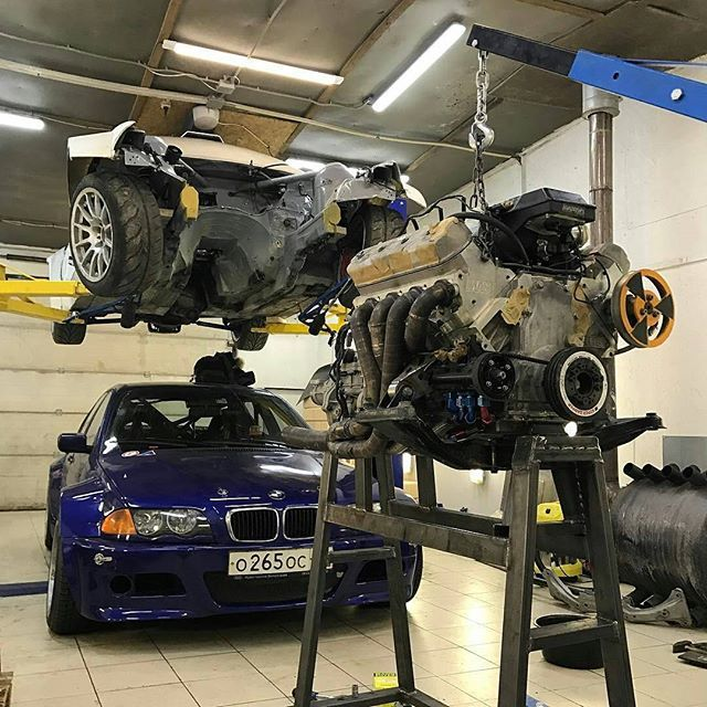 Pin by Mast Motorsports on From the Gram | Ls swap, Bmw e46