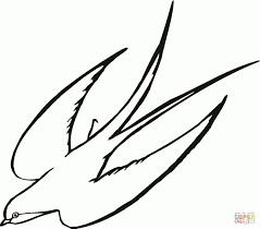 Hirondelles Dessin Recherche Google Dessin Oiseau En Vol
