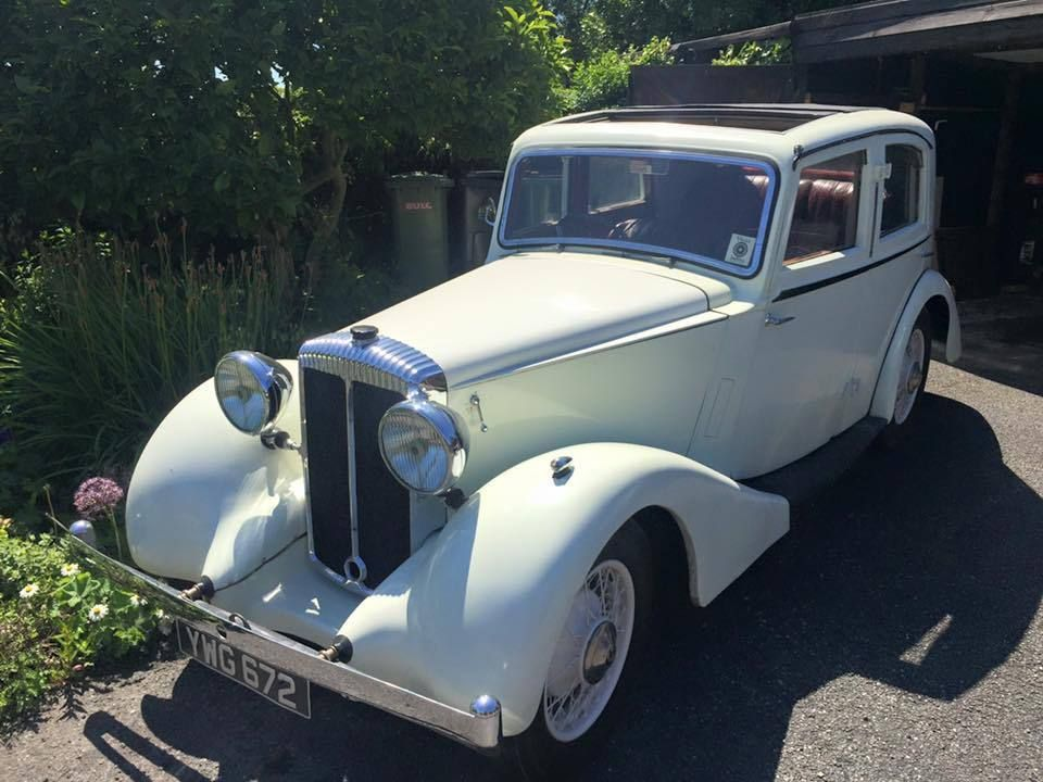 1937 Daimler 15 Sports Saloon by Mulliner VERY RARE Pre War Wedding ...