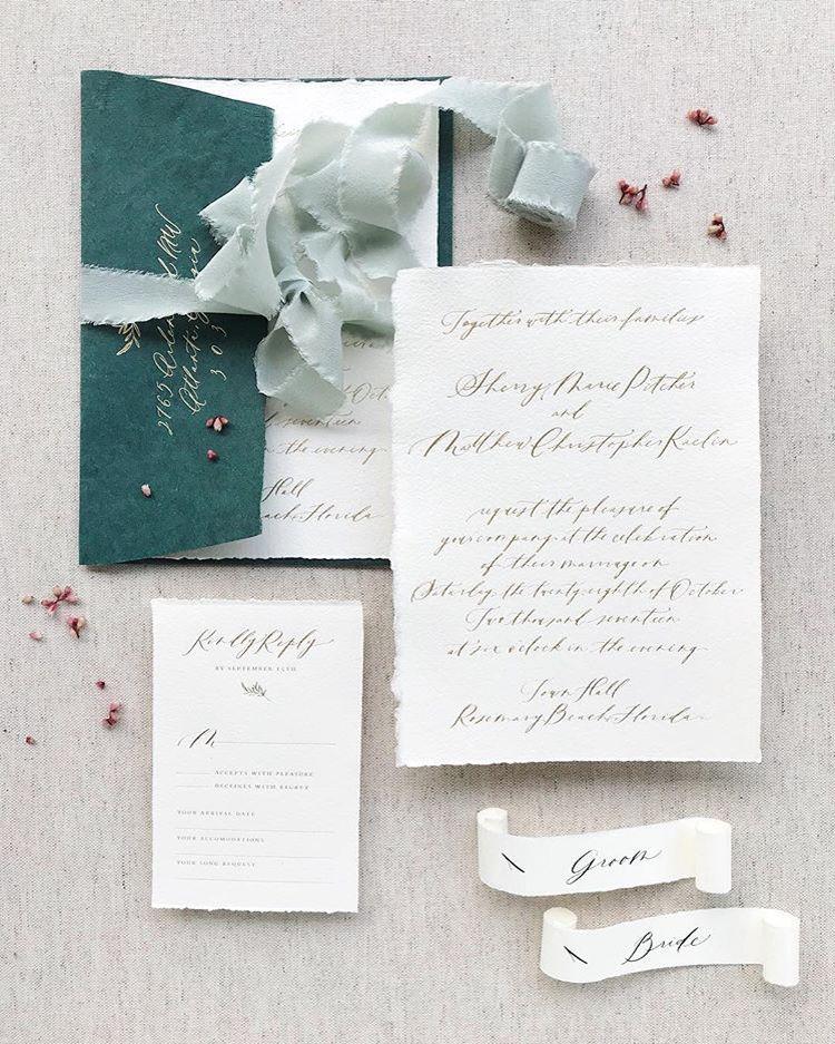 The Most Beautiful Wedding Invitation Trends For 2020 Make Happy Memories Wedding Invitation Trends Modern Calligraphy Wedding Invitation Cheap Wedding Invitations Diy