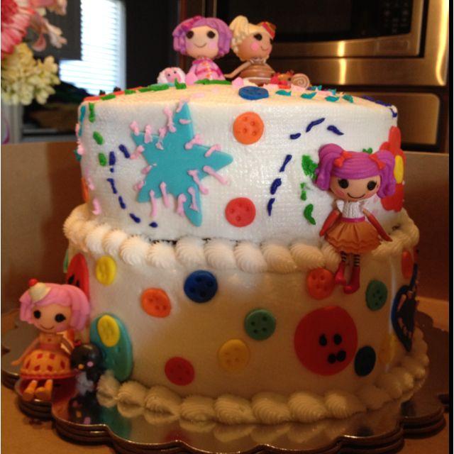 Amelia belle lalaloopsy cake