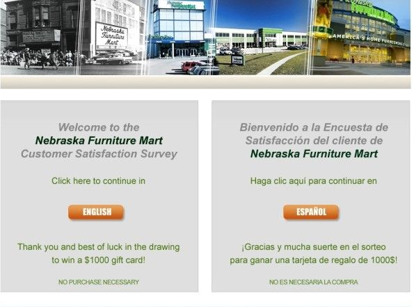 Nebraska Furniture Mart Customer Satisfaction Survey OpinionNfm