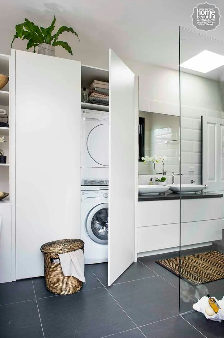 Bathroom laundry combination | House things in 2019 ...
