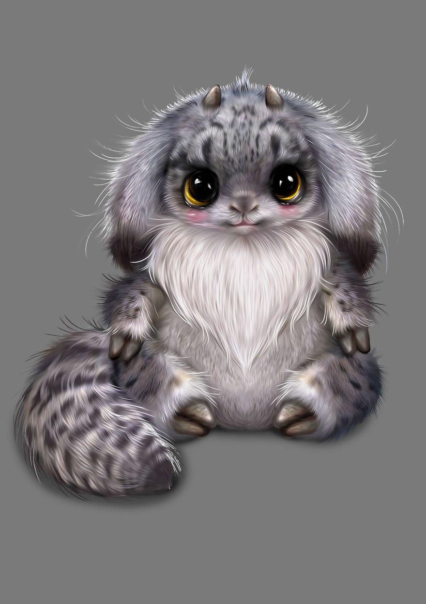 8 in 2020 Cute fantasy creatures, Cute animals, Animal