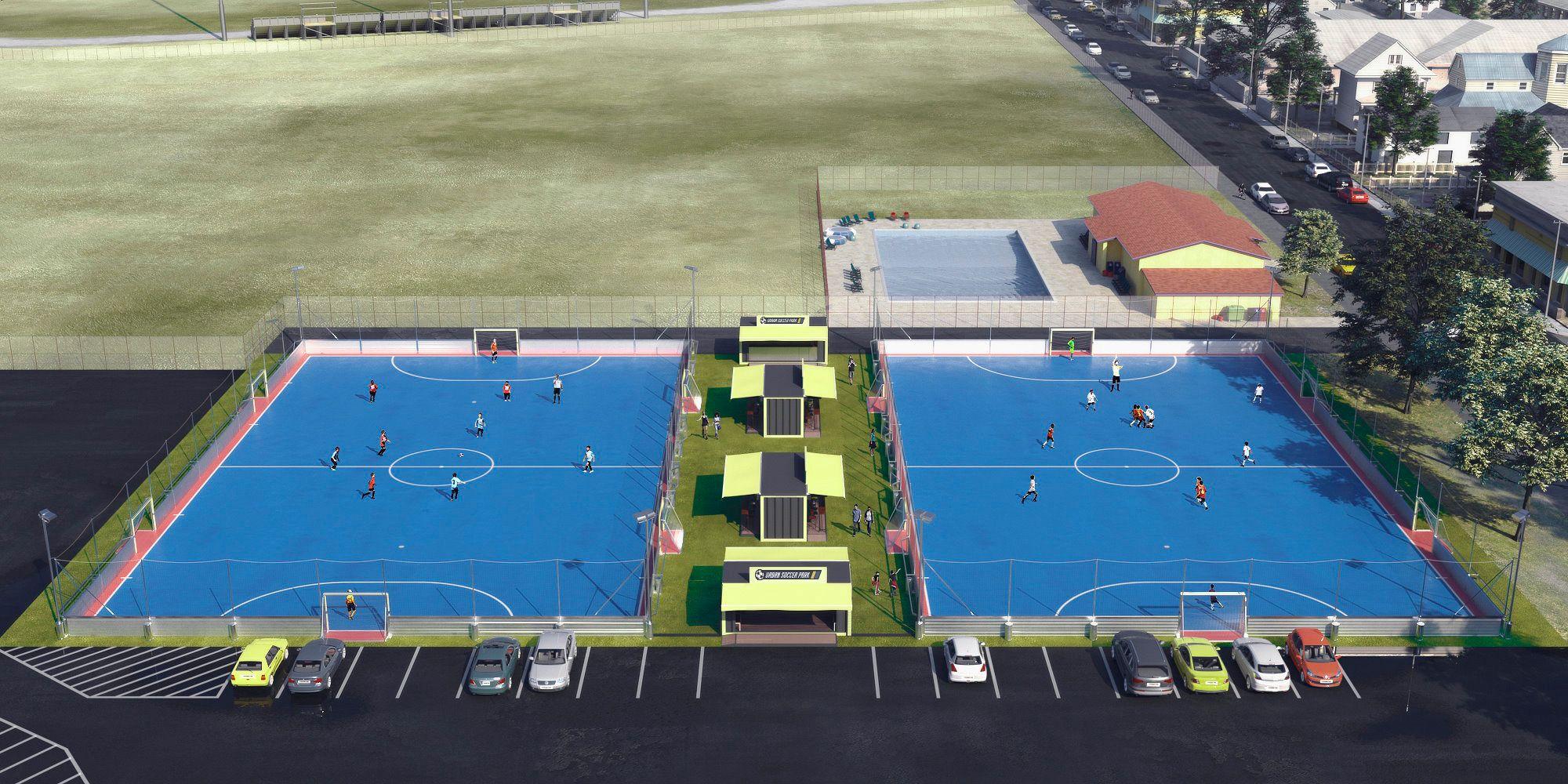 Futsal Courts Futsal Court Football Pitch Professional Soccer